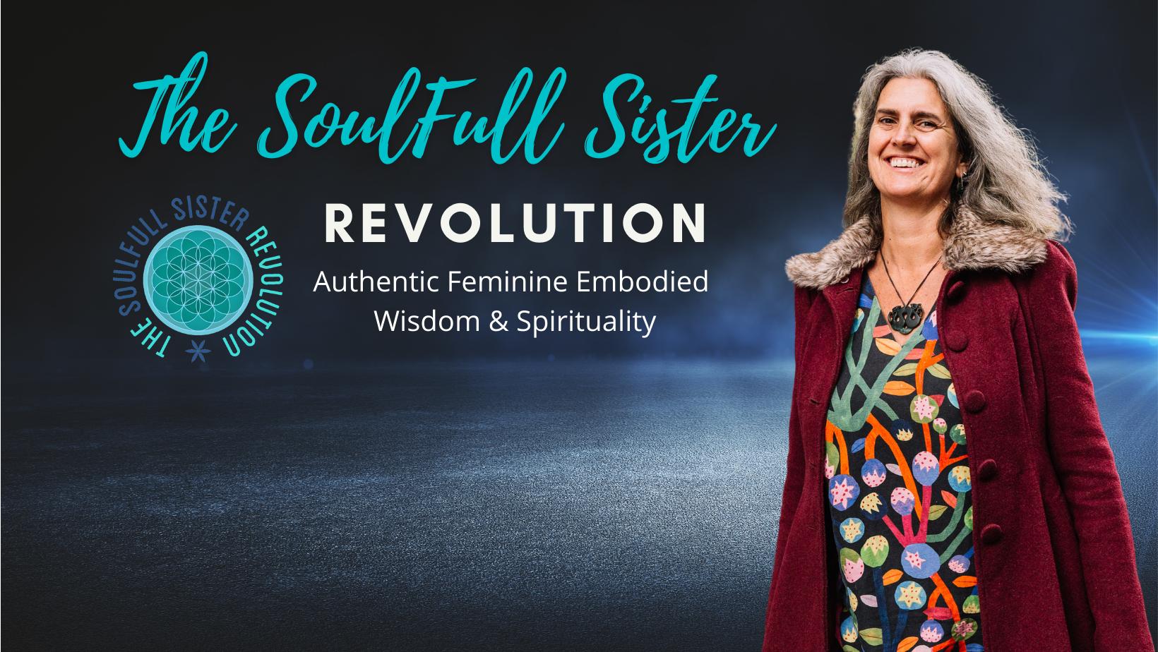 The SoulFull Sister Revolution FB Banner